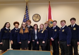 Bradford County Agricultural Students Present Bills to Lawmakers in Strong Fashion