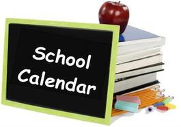 2020-2021 School Calendar is Here!